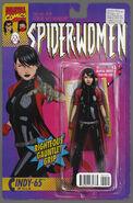 Spider-Women Omega Vol 1 1 Action Figure Variant