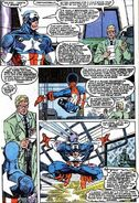 Steven Rogers (Earth-616) and Keith Kincaid (Earth-616) from Captain America Vol 1 384 0001