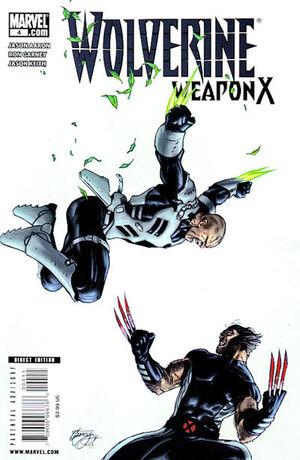 Wolverine Weapon X Vol 1 4