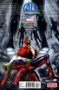 Age of Ultron Vol 1 3 Second Printing Variant