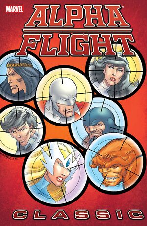 Alpha Flight Classic TPB Vol 1 2