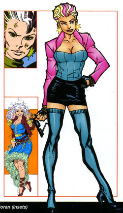 Ariel (Coconut Grove) (Earth-616) from Official Handbook of the Marvel Universe A-Z Update Vol 1 3 0001