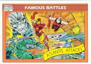 Atlantis Attacks (Earth-616) from Marvel Universe Cards Series I 0001