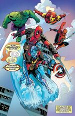 Avengers (Earth-Unknown) from Deadpool The End Vol 1 1 002