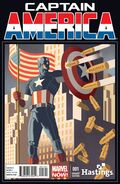 Captain America Vol 7 1 Hastings Variant