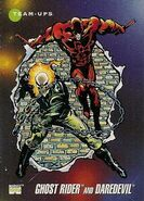 Daniel Ketch and Matthew Murdock (Earth-616) from Marvel Universe Cards Series III 0001