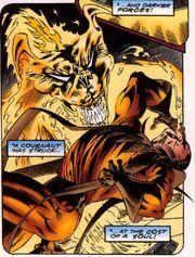 Esteban Corazón de Ablo (Earth-616) sells his soul to Mephisto from Fantastic Force Vol 1 18