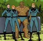 Fantastic Four (Earth-7642) from Gen¹³ Fantastic Four Vol 1 1 001