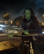 Gamora (Earth-199999) from Guardians of the Galaxy Vol. 2 (film) 0001