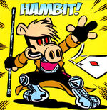 Hambit from Ultimate Civil War Spider-Ham Vol 1 1 0001