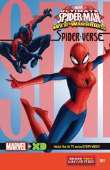 Marvel Universe Ultimate Spider-Man: Web Warriors - Spider-Verse Vol 1 1