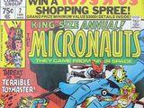 Micronauts Annual Vol 1 2