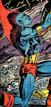 Yondu Udonta (Earth-691) on Centauri-IV from Marvel Presents Vol 1 4 001