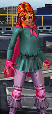 Annie Parker from Spider-Man Unlimited (video game) 001