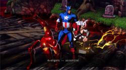 Avengers (Earth-30847) from Ultimate Marvel vs. Capcom 3 001