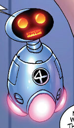Humanoid Experimental Robot B-Type Integrated Electronics (Earth-2301) from Marvel Mangaverse Vol 1 1 0001