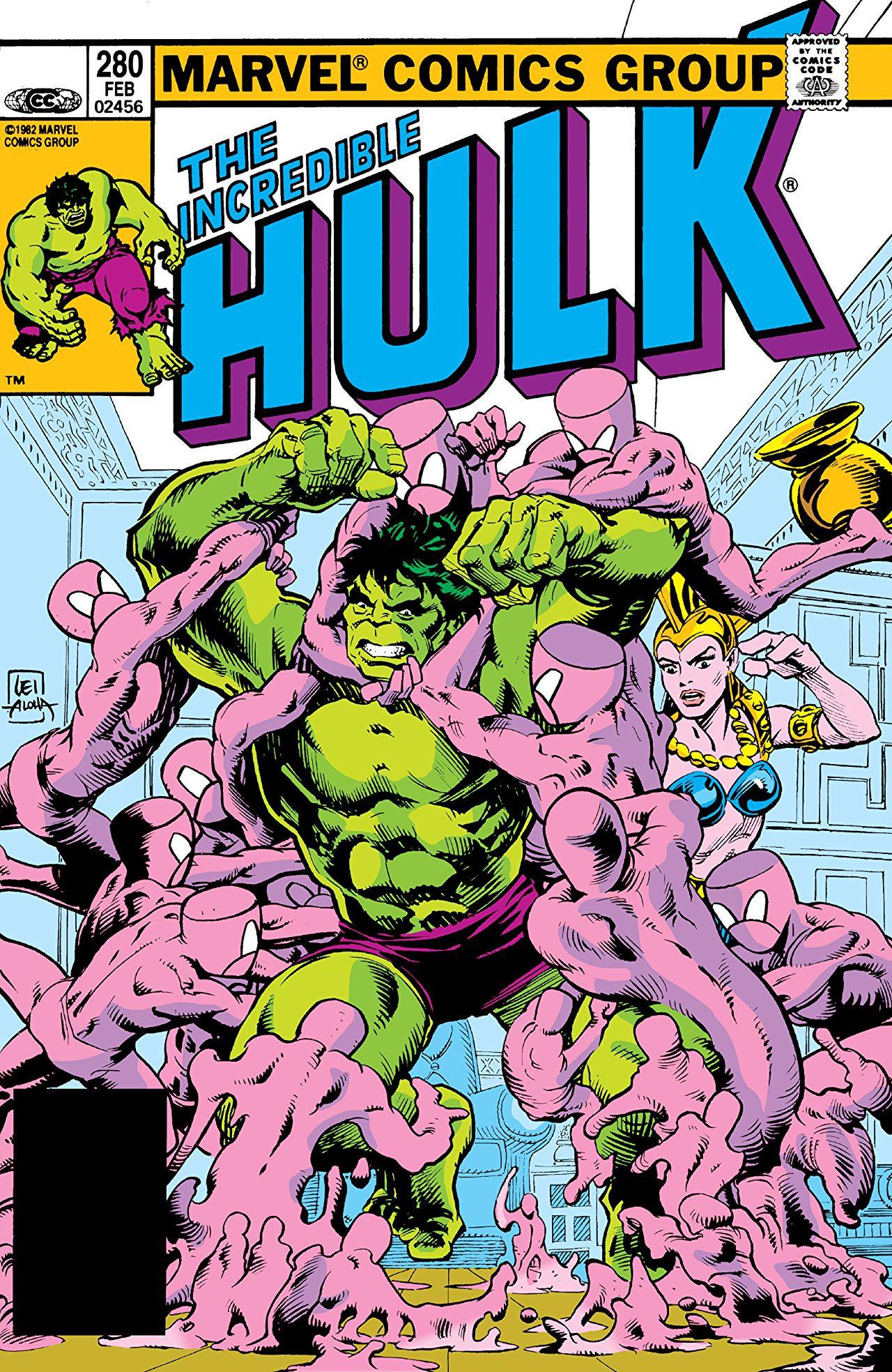 Incredible Hulk Vol 1 280