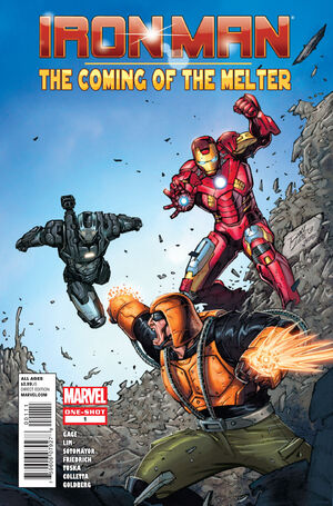 Iron Man The Coming of the Melter Vol 1 1