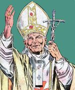 Karol Wojtyla (Earth-616) from Life of Pope John Paul II Vol 1 1 0001
