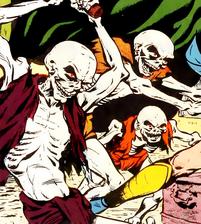 Madame la Morte's Minions (Earth-616) from Astonishing Vol 1 4