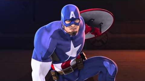 Marvel's Iron Man & Captain America Heroes United - Clip 1