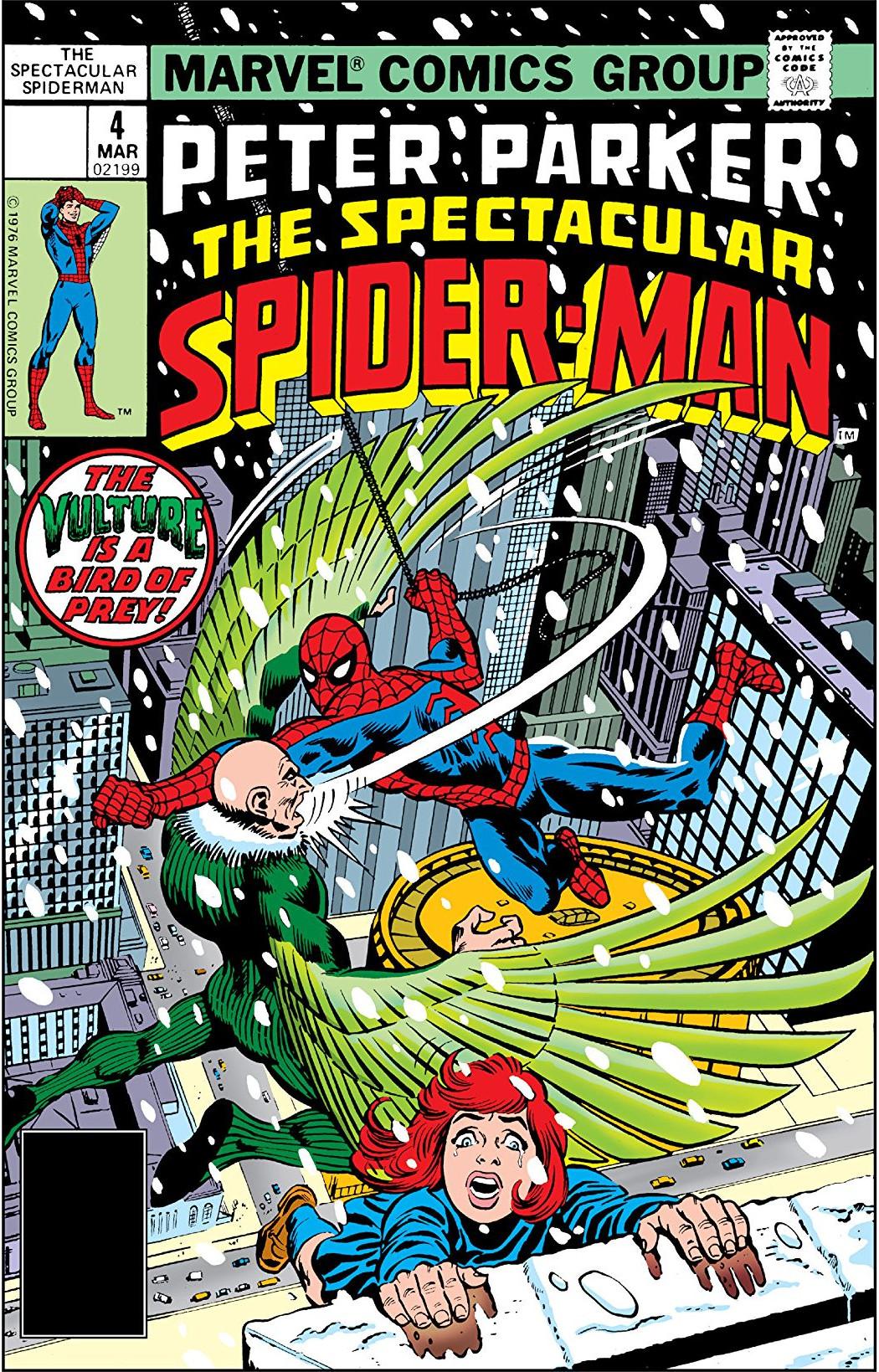 Peter Parker, The Spectacular Spider-Man Vol 1 4