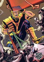 Ray Summers (Earth-9602) from Amalgam Comics (Trading Cards) 0001