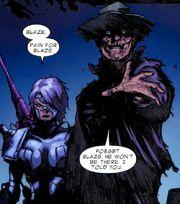Ruriko Tsumura (Earth-616) and Adam (Earth-616) from Ghost Rider Vol 7 7 001