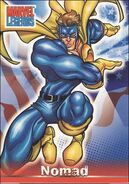 Steven Rogers (Earth-616) from Marvel Legends (Trading Cards) 0002