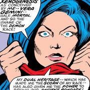 Vera Gemini (Earth-616) from Defenders Vol 1 59 001