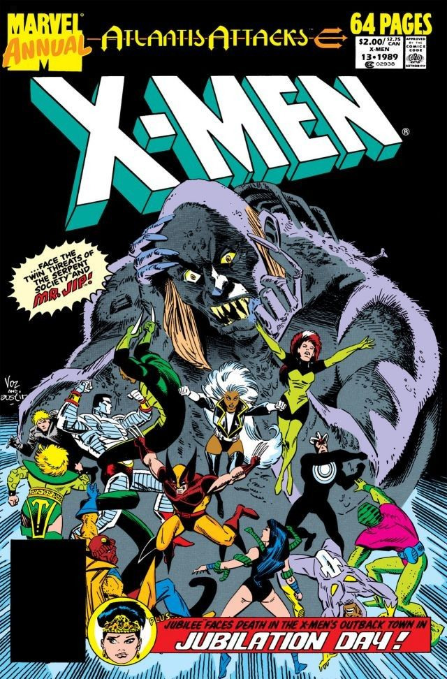 Image result for uncanny x men annual 13