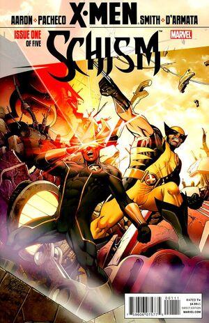 X-Men Schism Vol 1 1