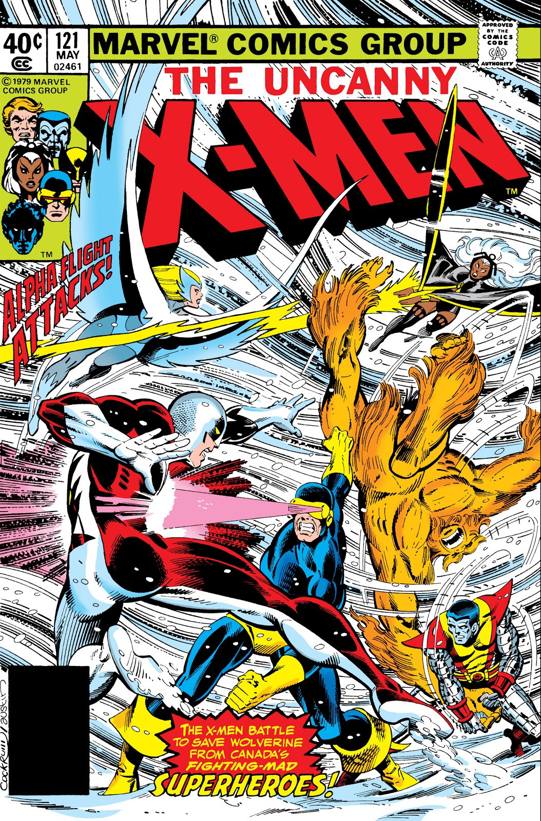 Image result for x-men 121