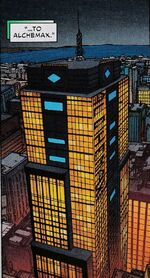 Alchemax from Superior Spider-Man Vol 1 27.NOW