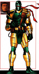 Charles Little Sky (Earth-616) from Official Handbook of the Marvel Universe A-Z Update Vol 1 2 0001