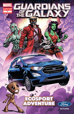Guardians of the Galaxy EcoSport Adventure Vol 1 1