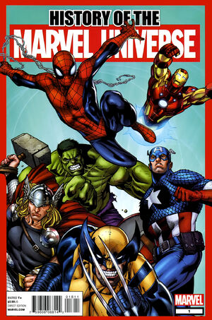 History of the Marvel Universe Vol 1 1