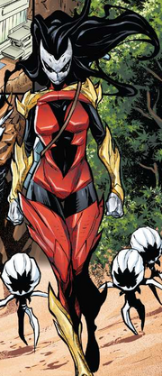 Hive (Poisons) (Earth-17952) Members-Poison Spider-Woman from Venomized Vol 1 2 001