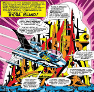 Hydra Island from Strange Tales Vol 1 156 0001