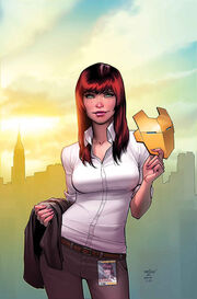 Invincible Iron Man Vol 3 4 Textless
