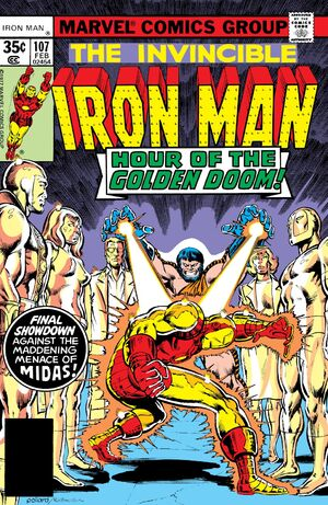 Iron Man Vol 1 107
