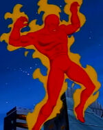 Jonathan Storm (Earth-534834) from Fantastic Four (1994 animated series) Season 2 4 0001