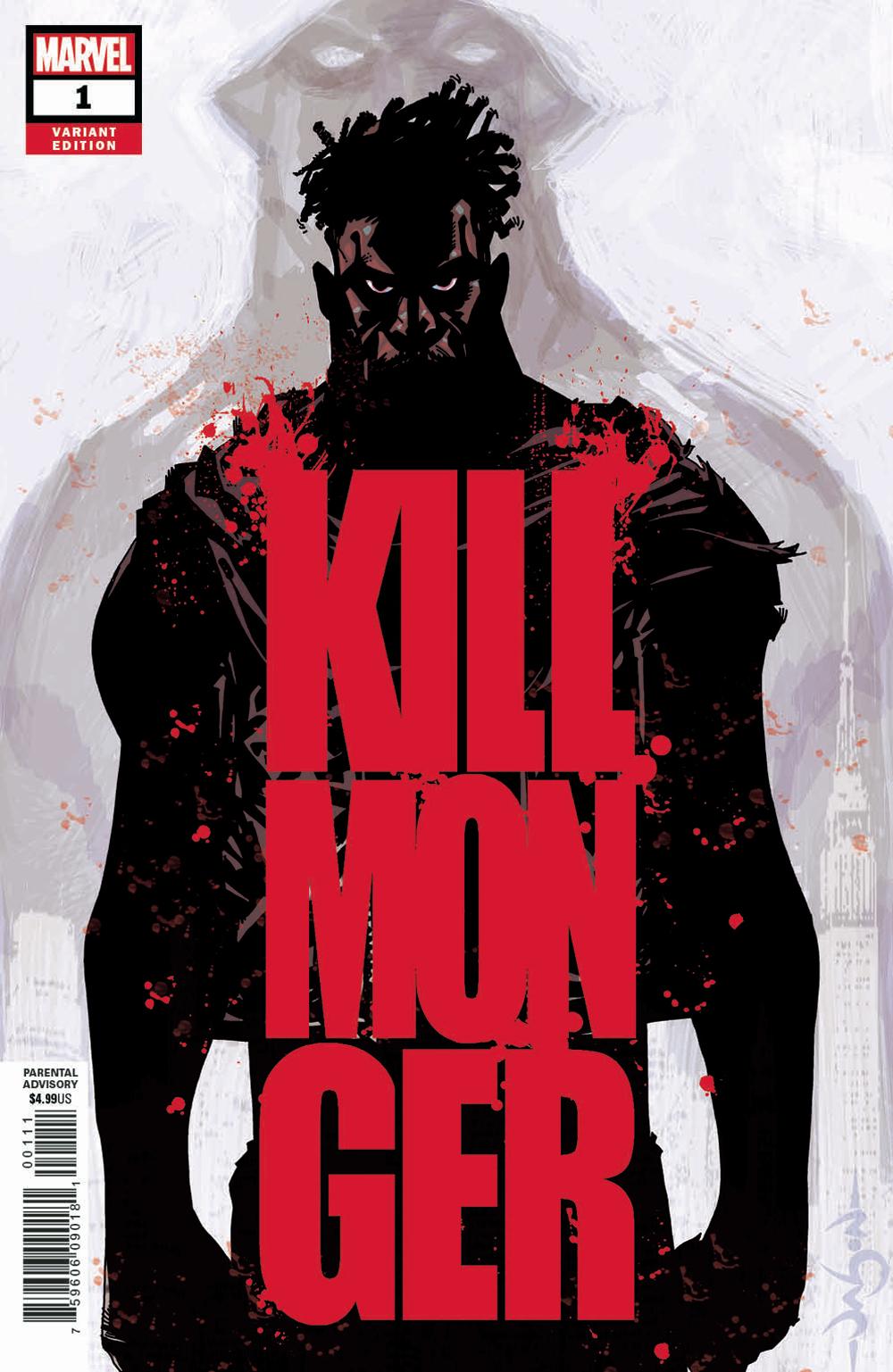 1ST PRINTING FERRYRA MAIN COVER MARVEL COMICS 2018 OF 5 KILLMONGER #2
