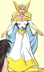 Lady of the Table (Earth-93121) from King Arthur and the Knights of Justice Vol 1 1 0001