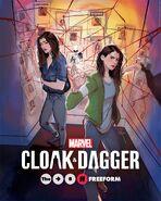Marvel's Cloak & Dagger poster 010