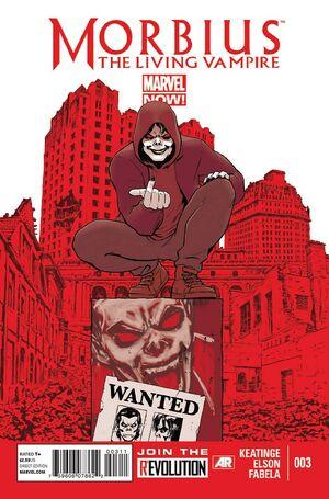 Morbius The Living Vampire Vol 2 3