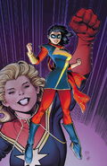 Ms. Marvel Vol 3 1 Adams Variant Textless