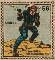 Rawhide Kid Marvel Value Stamp