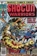 Shogun Warriors Vol 1 5