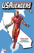 U.S.Avengers Vol 1 1 California Variant
